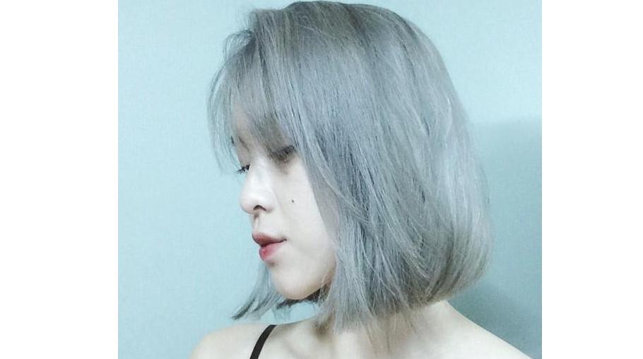 Mẫu tóc nhuộm 9